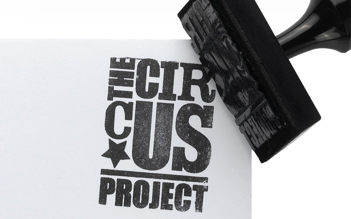 The Circus Project stamp